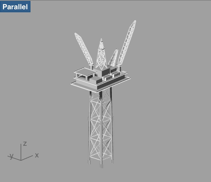 Compliant Tower
