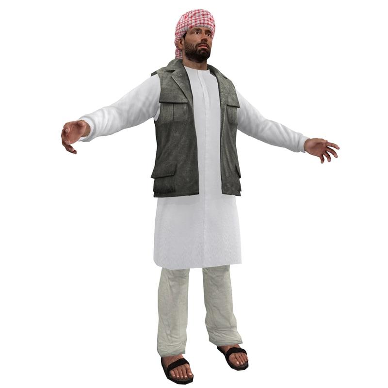 Arab man U1