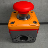 Pushbutton Switch 3D models