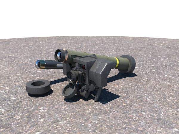 FGM 148 Javelin 3D Models