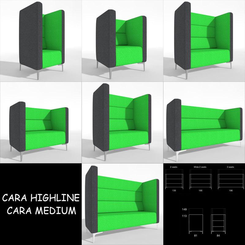 Chair Cara Highline Medium