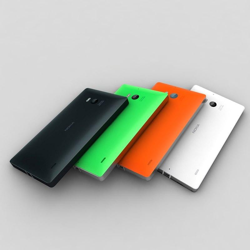 Nokia Lumia 930 in All Colour