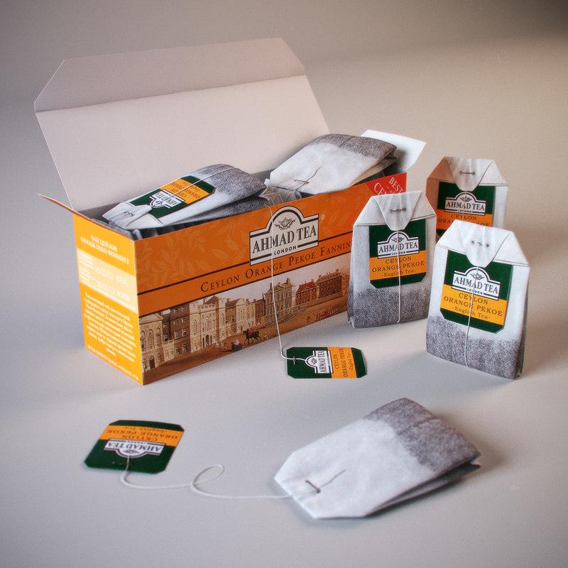 Tea Ahmad Orange Pekoe In Box
