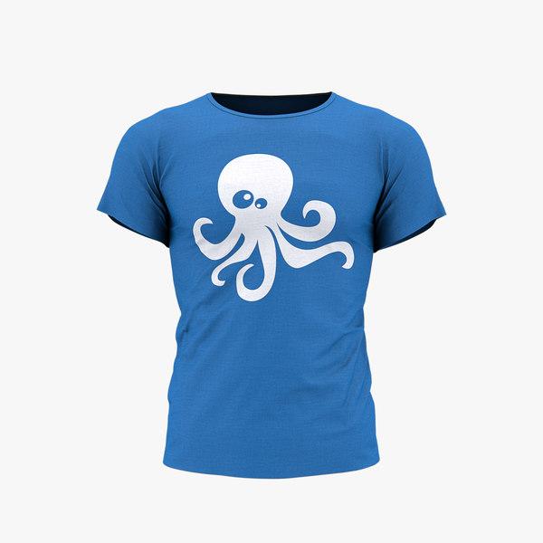 T-Shirt 3D Models