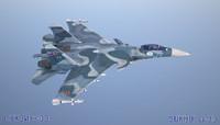 Su-33 3D models