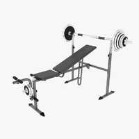 Exercise Equipment 3D models