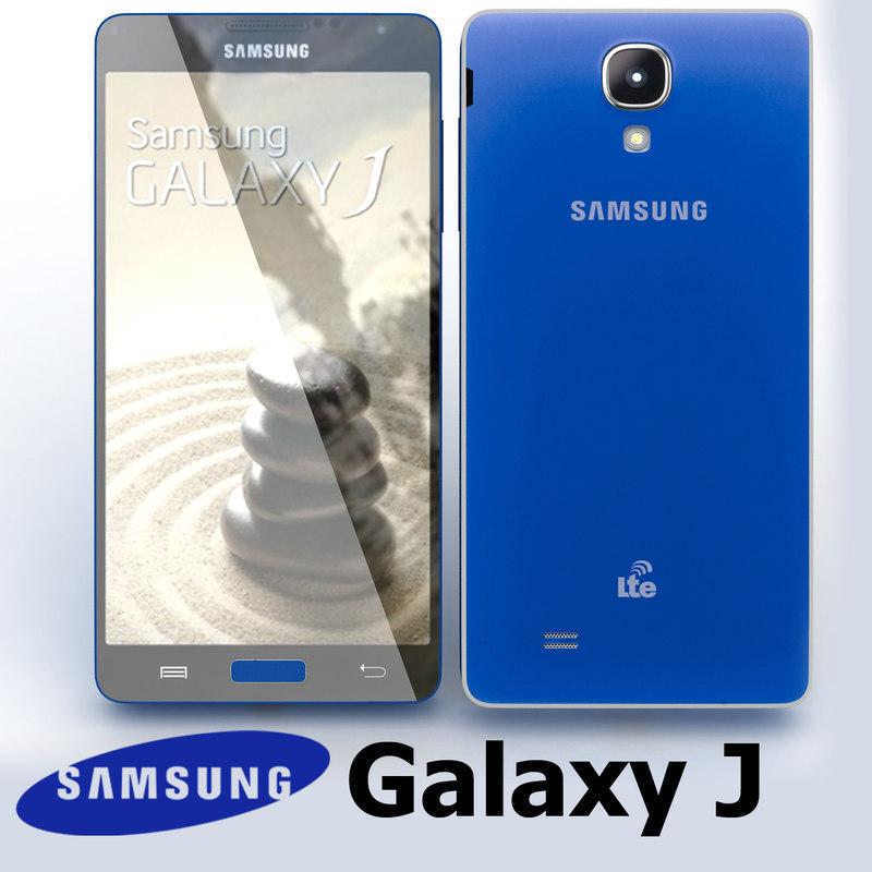 Samsung Galaxy J Blue