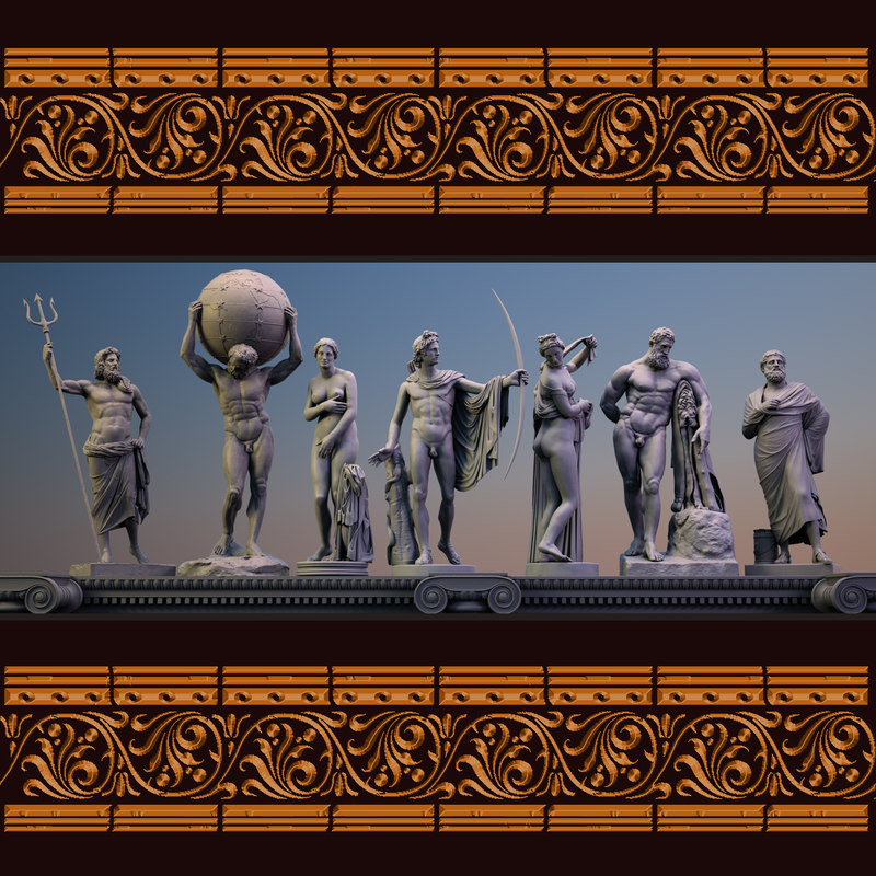 Classical Sculpture Collection II