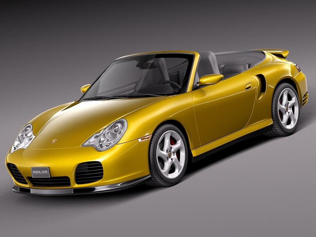 Porsche 911 Turbo Cabrio 996 2002