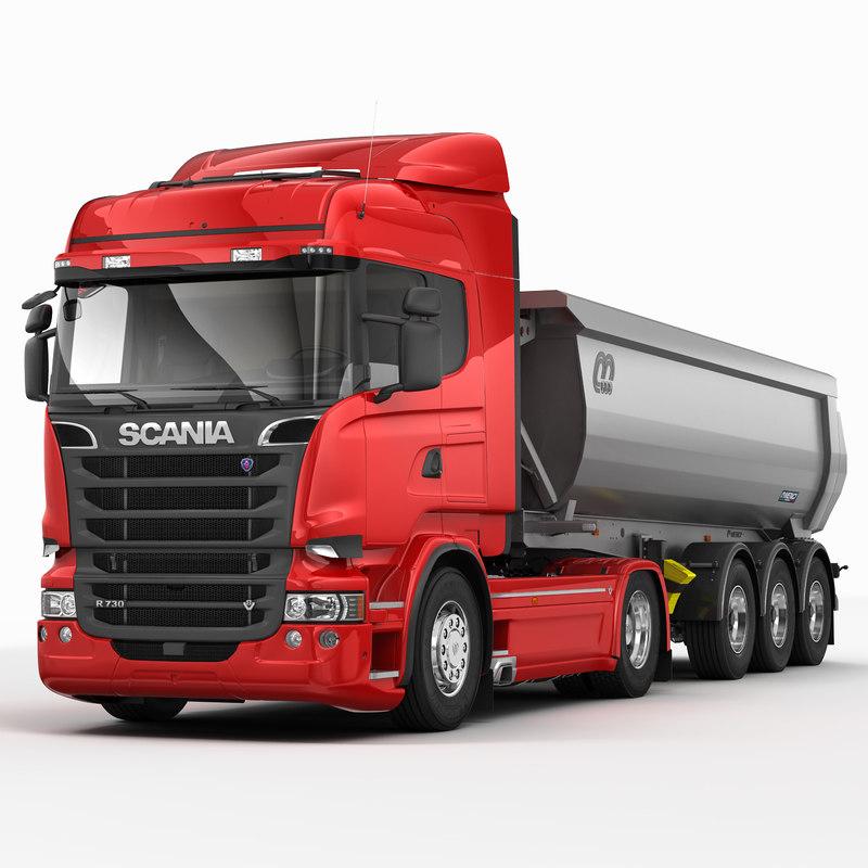 Scania R Tipper Trailer