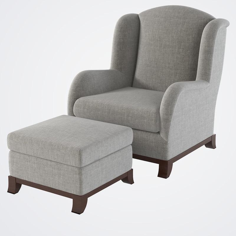 Promemoria Madame A Armchair