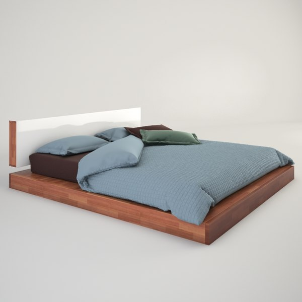 Mash Studio Lax Bed 3D Models