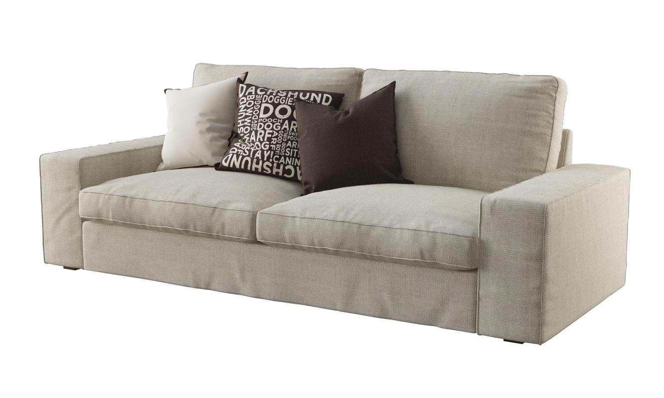 stl finder 3d models for ikea kivik sofa. Black Bedroom Furniture Sets. Home Design Ideas