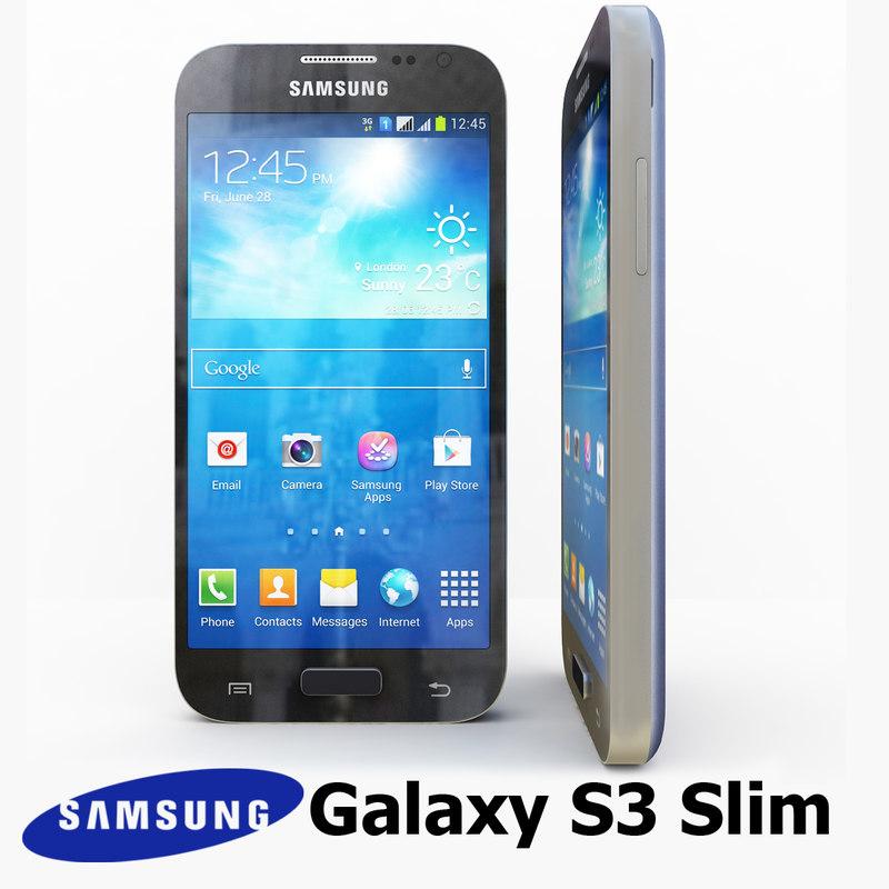 3d samsung galaxy s3 slim model