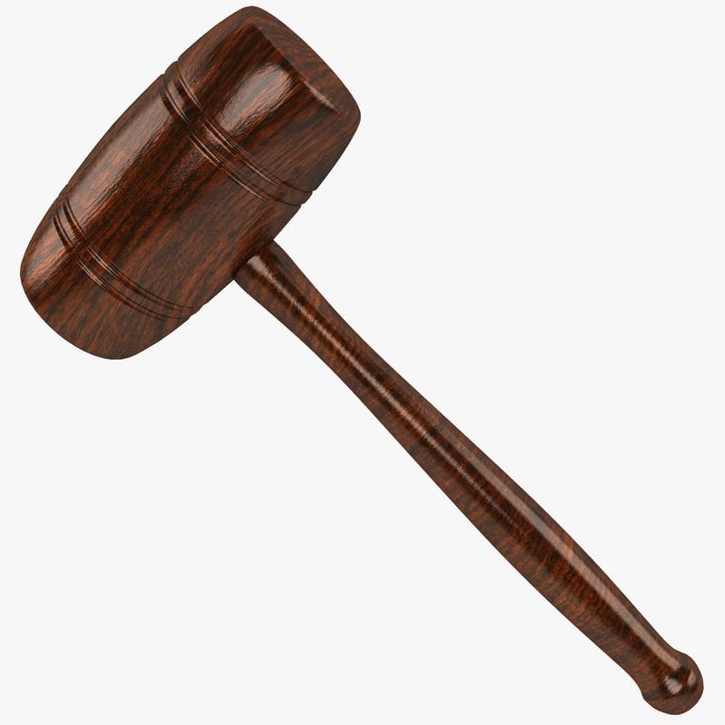 Wooden Mallet 2