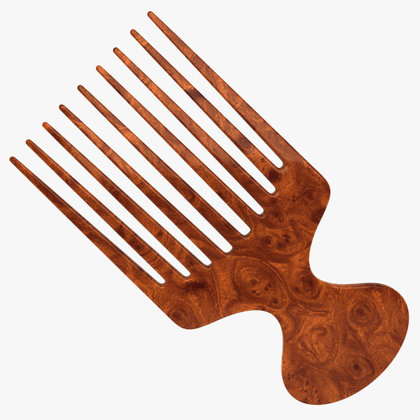 Hair Brush 4 3D Models
