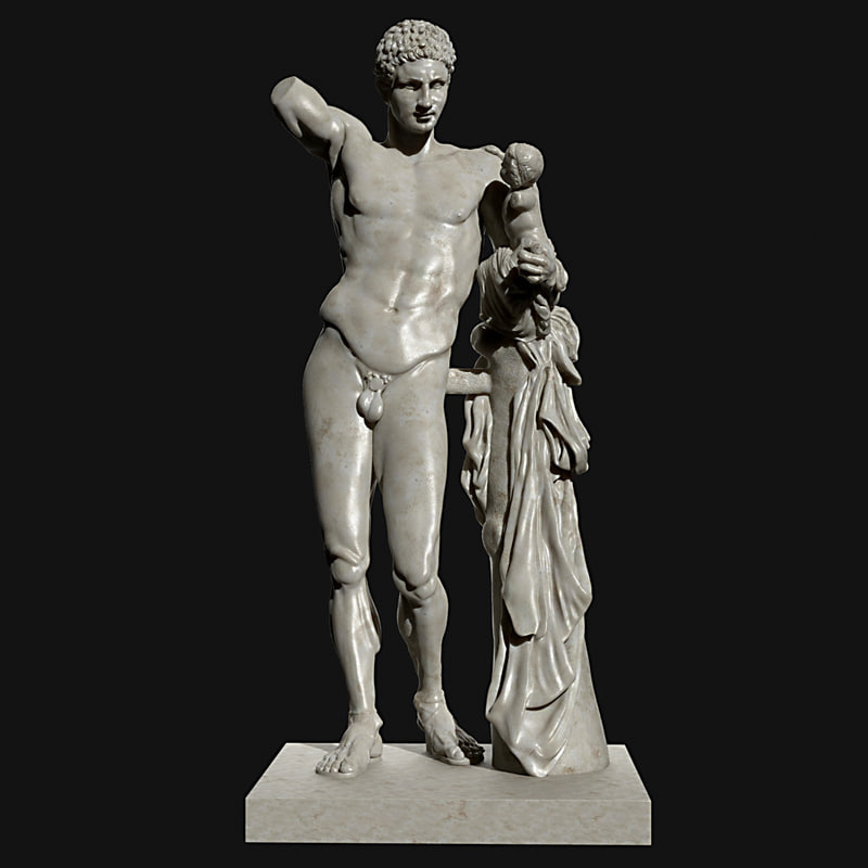 max statue hermes praxiteles
