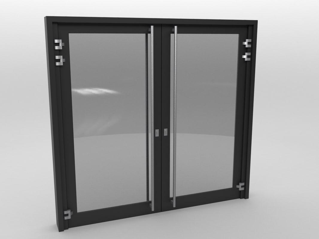 Glassdoor Autodesk Max Door Black Plastic