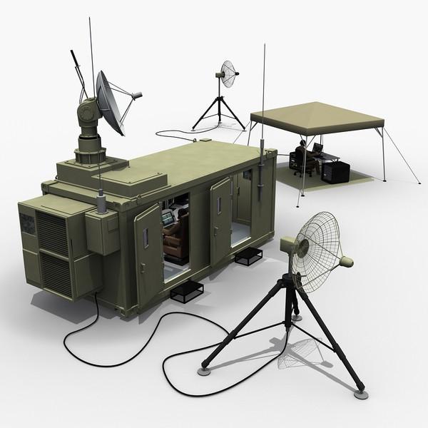 UAV Mobile Ground Control Station 3D Models