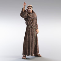 Religious People 3D models