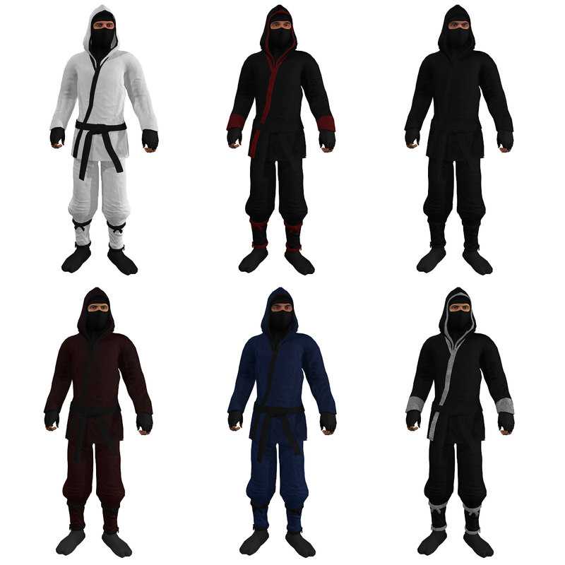 Ninja Pack Rigged