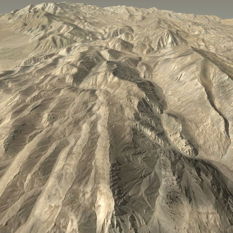 Lowpoly Terrain 26x26km