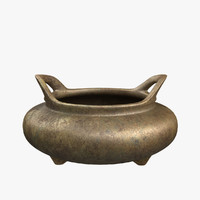 incense burner 3D models