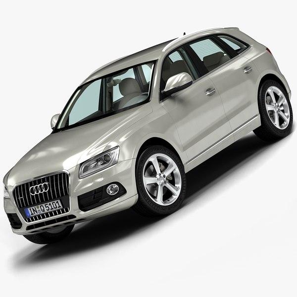 2013 Audi Q5 3D Models
