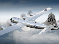 Boeing B-29 Superfortress 3D models