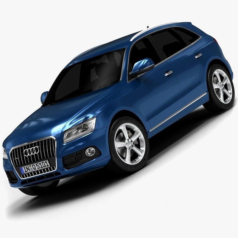 2015 Audi Sq5 Interior: 3d 2013 Audi Q5 Interior