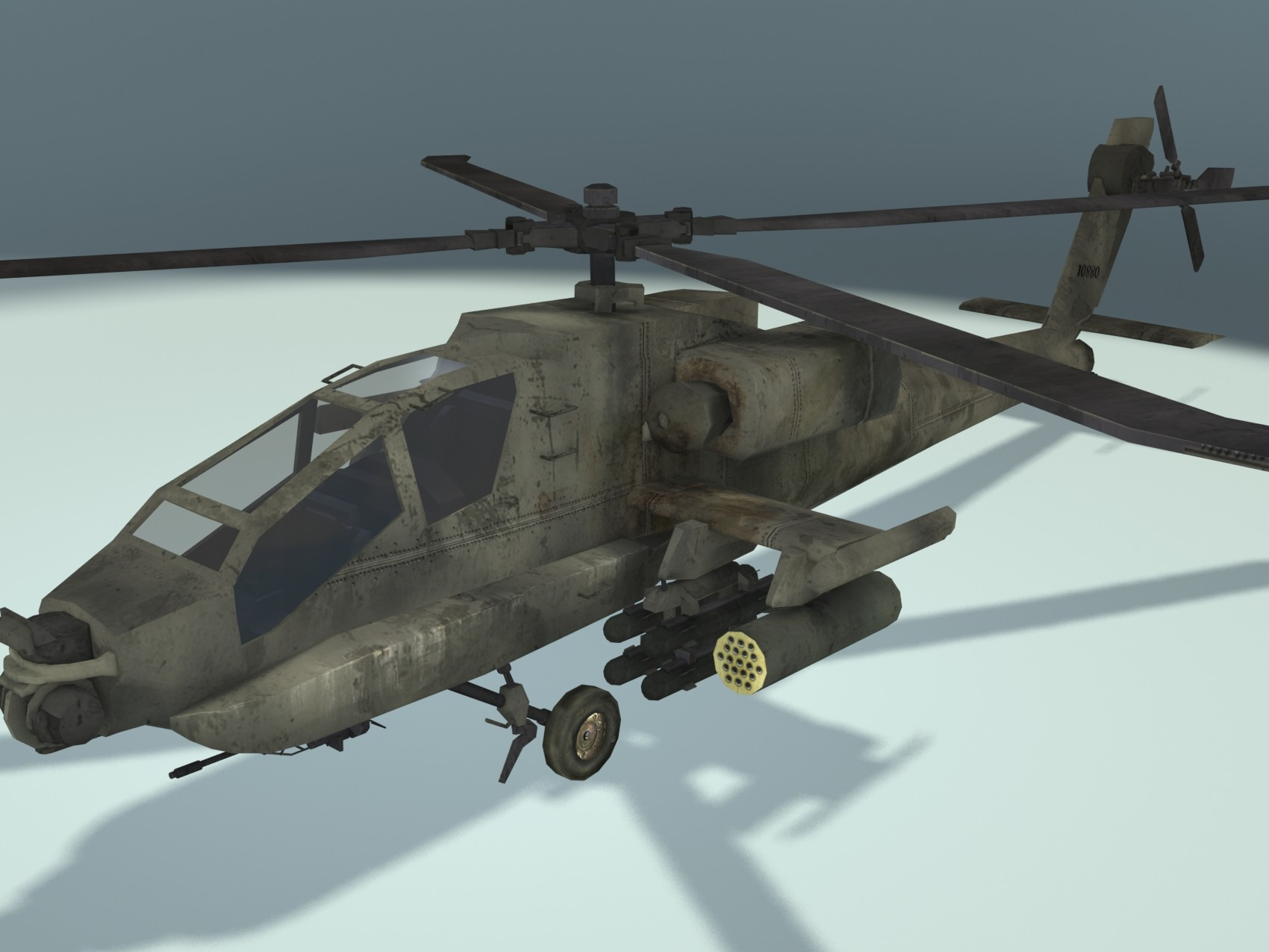 maya helicopter apache