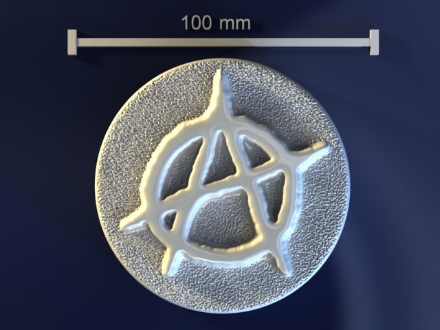 anarchy mold hand 3d model