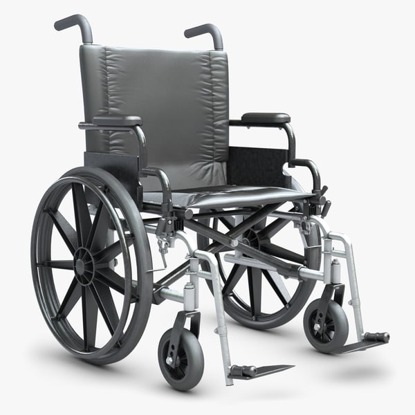 Wheelchair 1 3D Models
