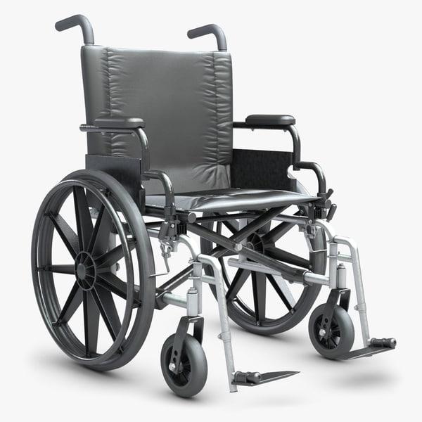 Wheelchair 1 3D Models