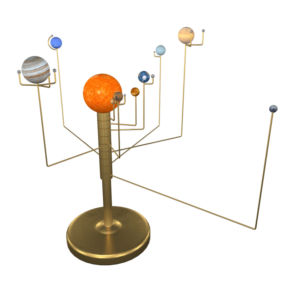 table top solar system model-#11