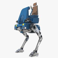 Mechanical Walker 3D models