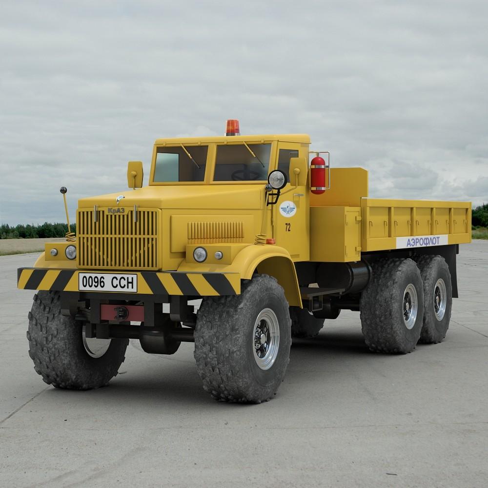 KRAZ 255 Airfield Tractor
