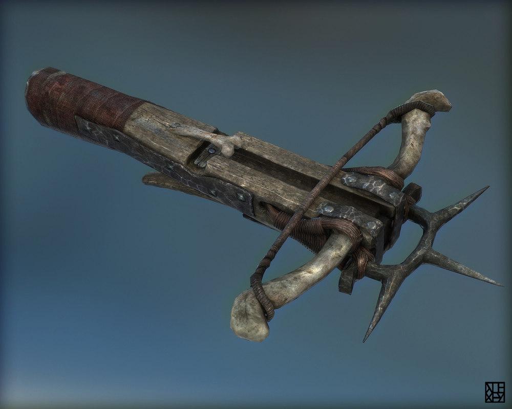 Fantasy Goblin Crossbow