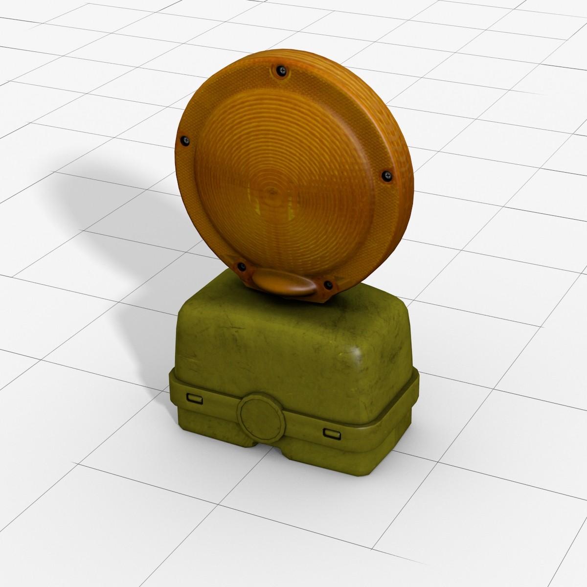 Barricade Flasher_3d Model.jpg