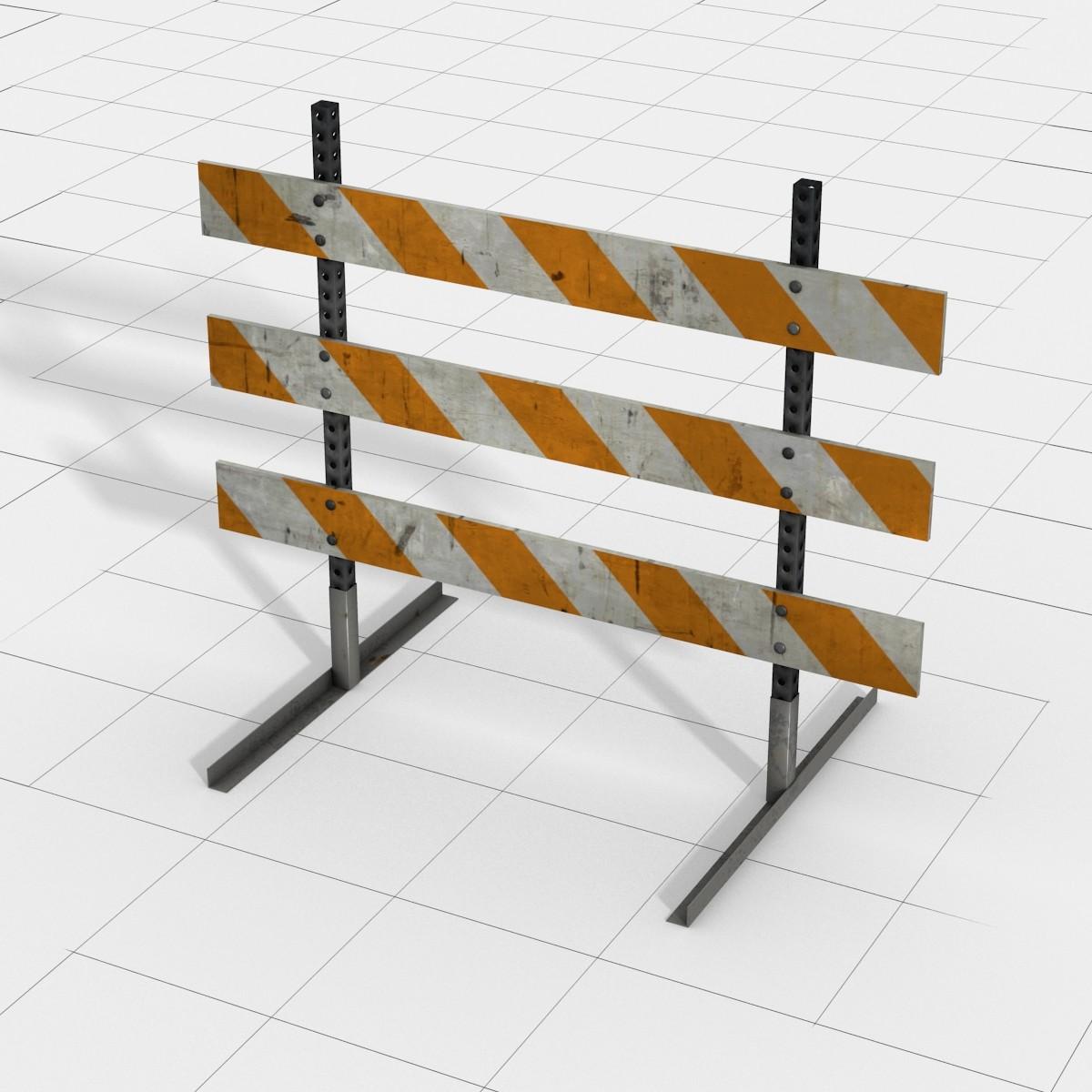 Type III Barricade_3d Model.jpg