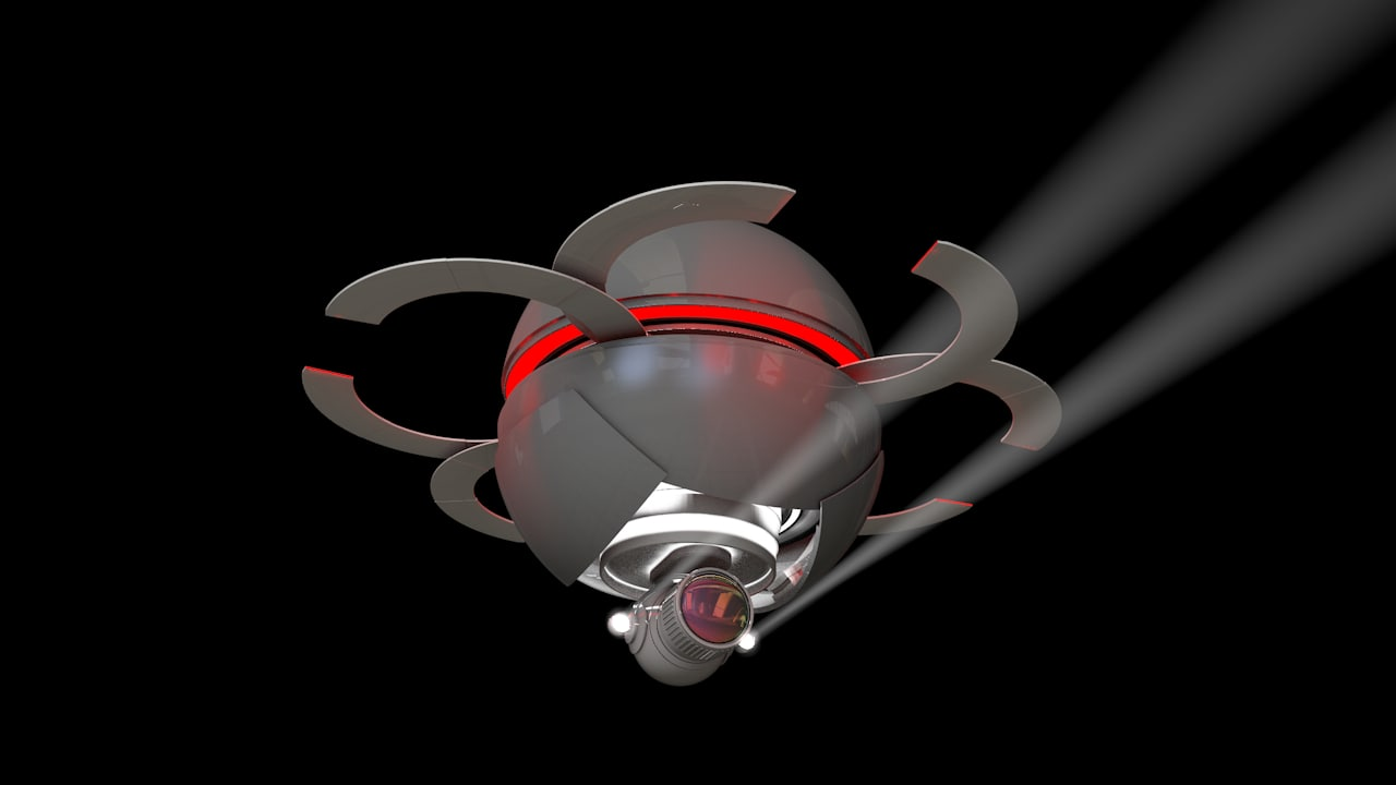 Sphere Drone Xpresso controlled