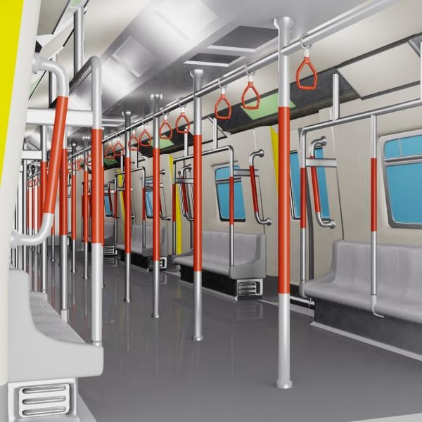 train and stuff information 3d models subway train. Black Bedroom Furniture Sets. Home Design Ideas