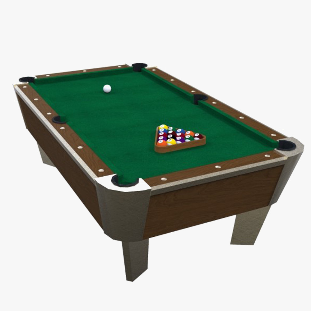 Billiard balls 3d model for Spl table 99 00