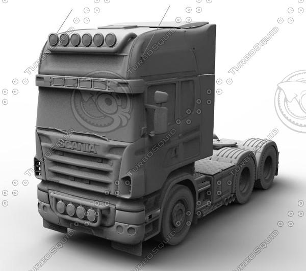 Camion 3D Models