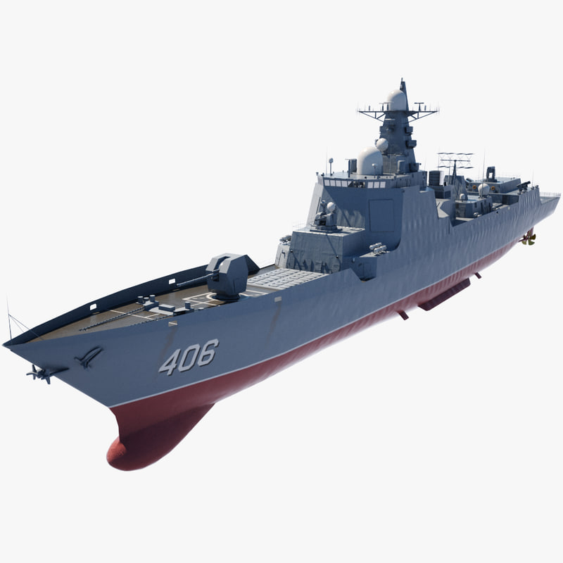 Guided Missile Destroyer