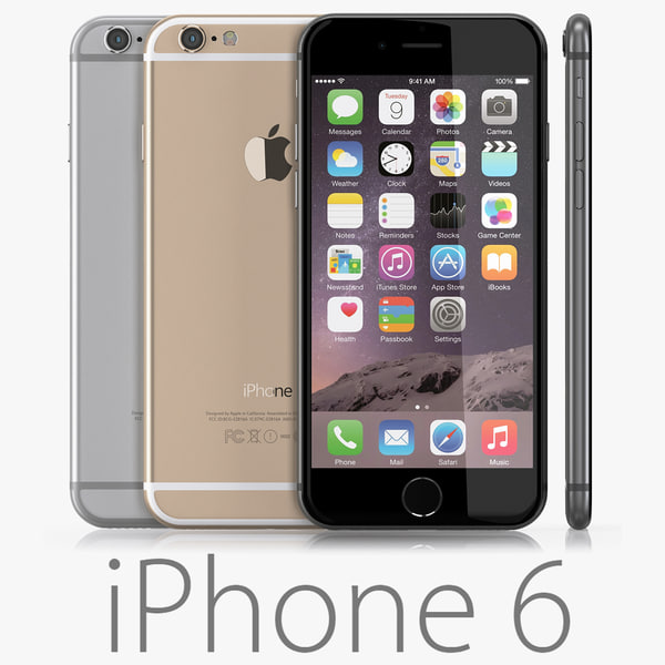 iPhone 6 4.7 inches 3D Models