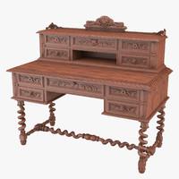 Writing Desk 3D models
