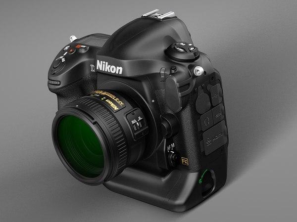 Nikon D4 Photo Camera Stock Photography