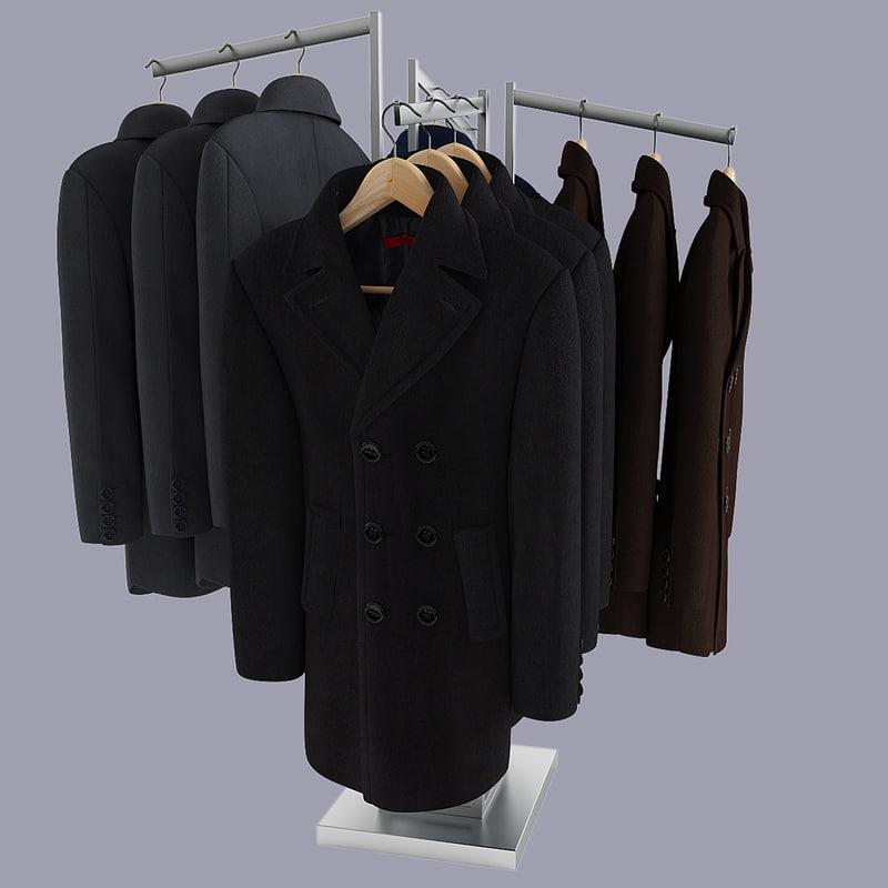 Men's Coats Rack 2