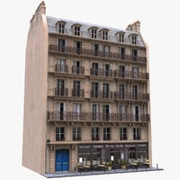 apartment building 3D models